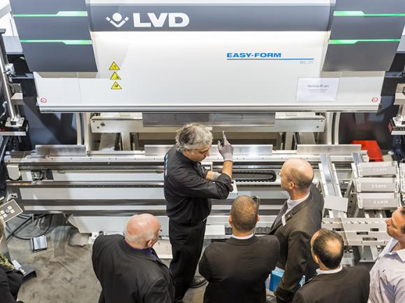 LVD to display its latest products at Blechexpo