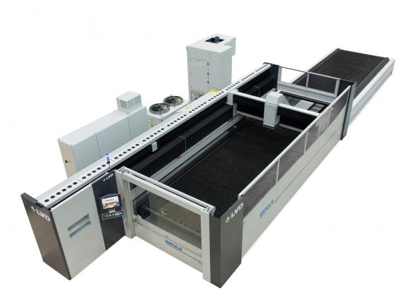 OPTIONAL NOZZLE CHANGER NOW AVAILABLE ON IMPULS 6020 LASER CUTTING SYSTEM