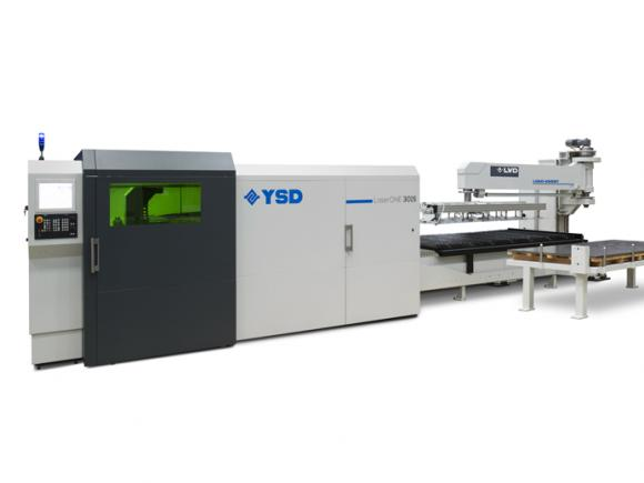 LVD YSD LaserONE Laser Cutting Machine with Load-Assist