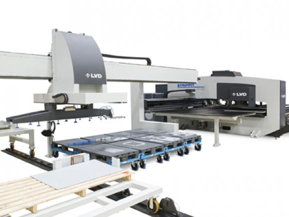 Flexible automation for Strippit-PX punch presses