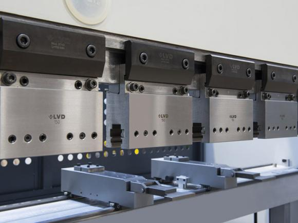 LVD PPED press brakes offer up to four backgauge axes