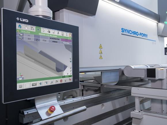 LVD Synchro-Form Press Brake