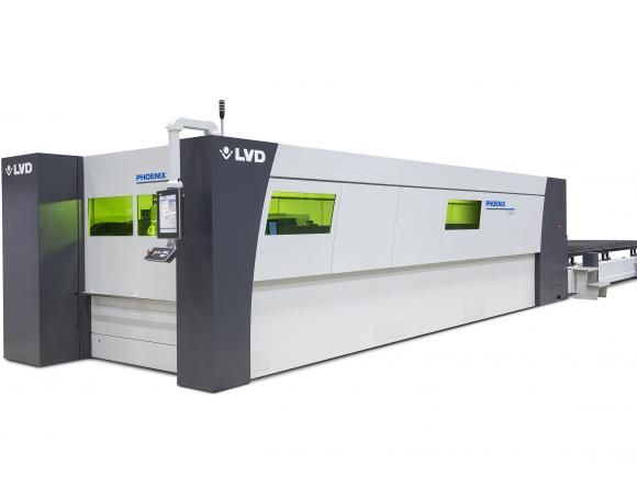 LVD Phoenix 6020 fiber laser cutting machine