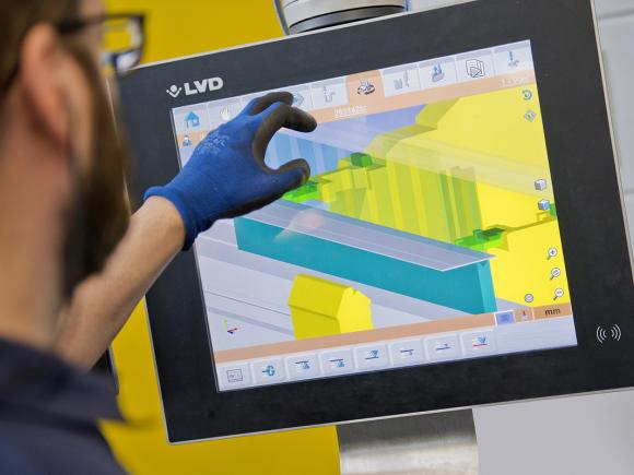 LVD ToolCell Plus Press Brakes Feature TOUCH-B Control