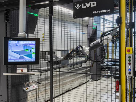 LVD Ulti-Form Robotic Bending System with LVD Touch Control
