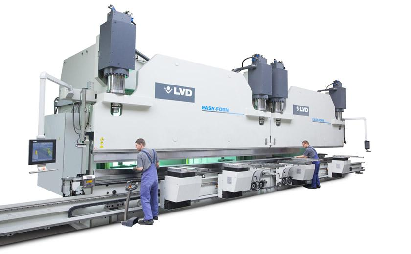 LVD PPEB-H custom press brakes for heavy bending