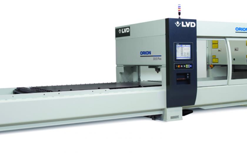 LVD Orion offers cost efficient laser cutting