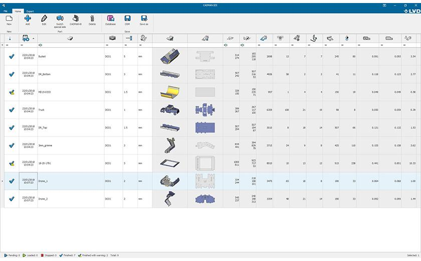 LVD CADMAN-SDI offers easy CAD file import