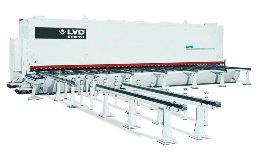 LVD custom heavy-duty MVS guillotineschaar