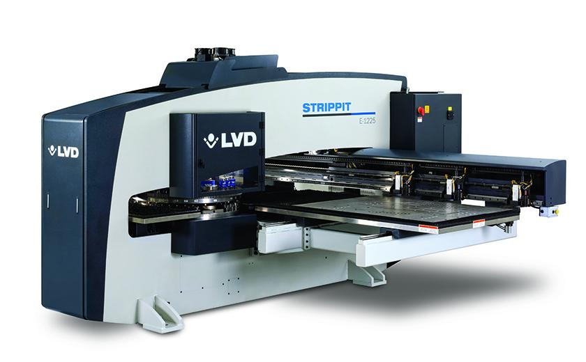 LVD Strippit E Series servo-electric punch press