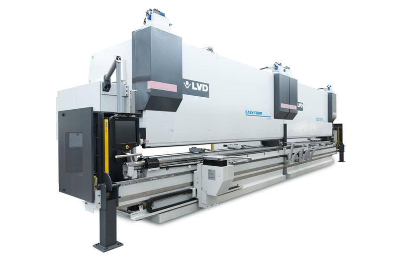 LVD PPEB-H tandem press brakes feature single CNC control