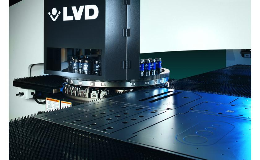 LVD Strippit M-Series features energy-efficient hydraulic press drive