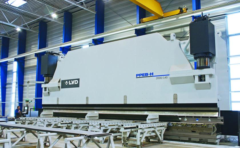 LVD PPEB-H heavy-duty hydraulic press brake