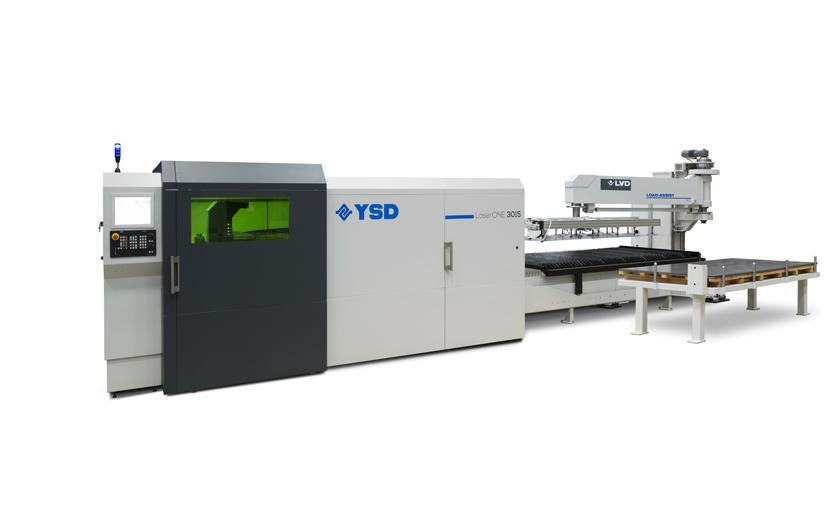 YSD LaserONE with Load-Assist automation
