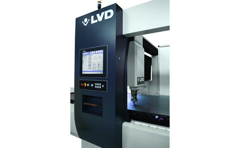 LVD Orion features integrated control and machine