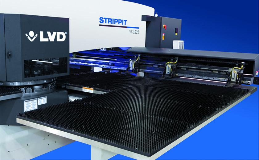 LVD Strippit VX programmable workclamps