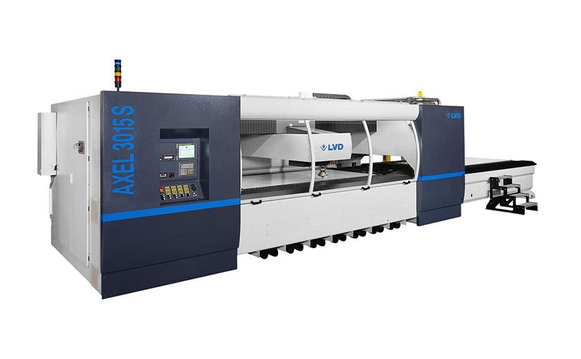 LVD Axel used laser cutting machines