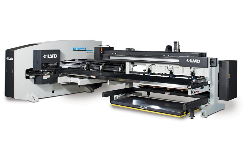 LVD Strippit M-1225 punch press with autoload