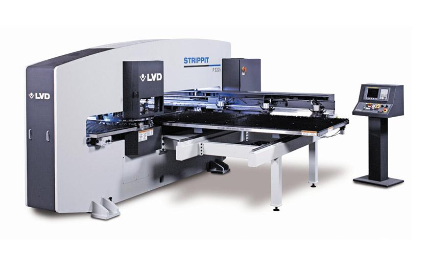 LVD Strippit P-1225 CNC turret punch press