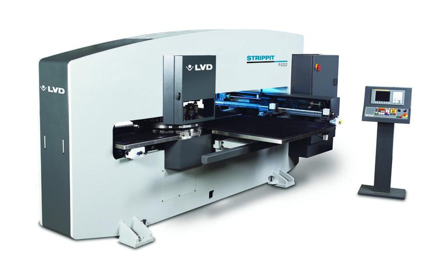 LVD Strippit P-1212 CNC turret punch press