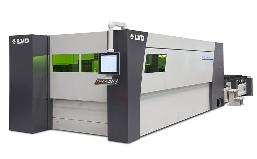 Phoenix FL-4020 fiber laser with compact tower
