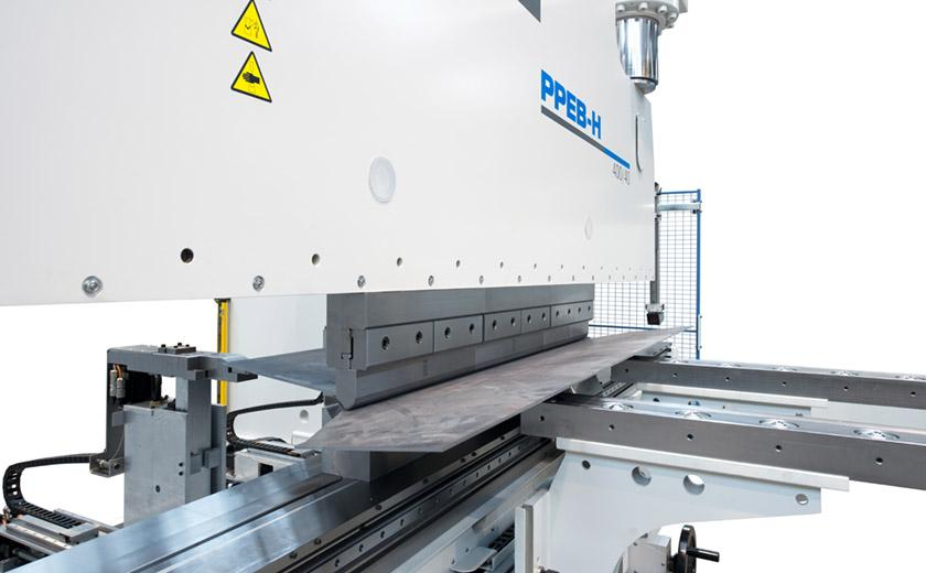 LVD PPEB-H press brakes offer numerous configurable options