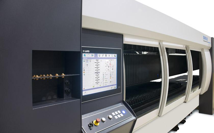 LVD laser cutting system offers high reliability