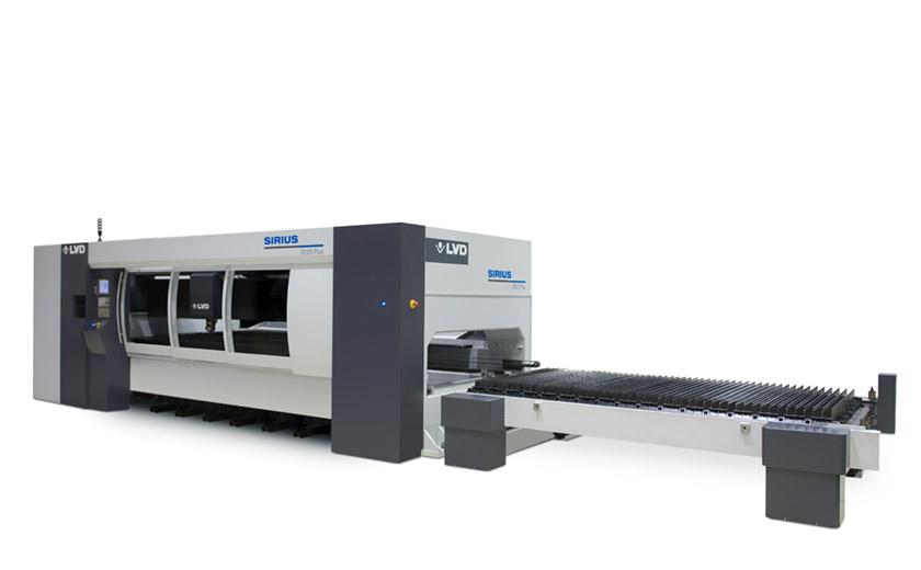 LVD Sirius Plus laser cutting system