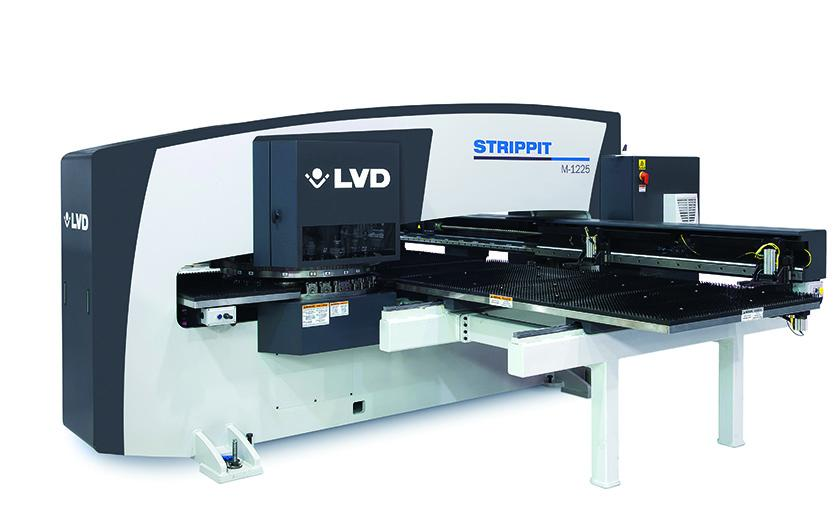 LVD Strippit M-Series punch press
