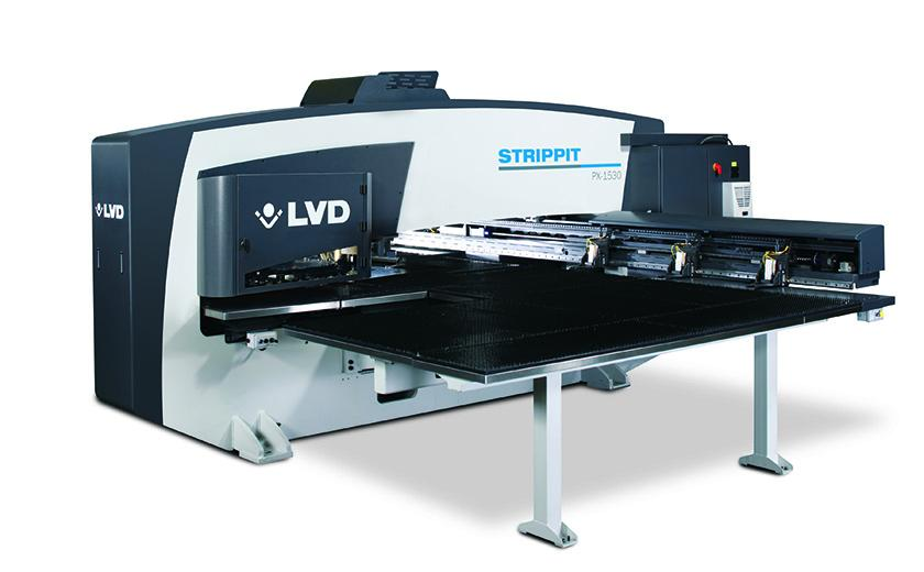 LVD Strippit PX-Series single-head punch press