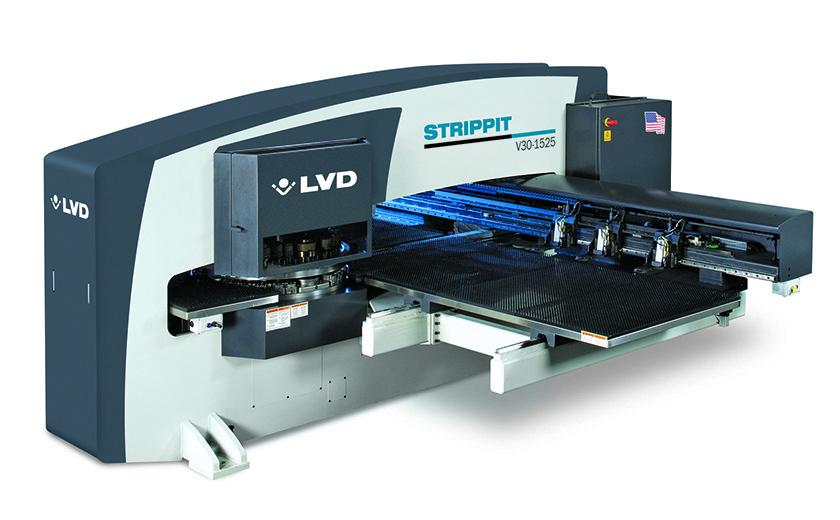 LVD Strippit V-Series CNC punch press