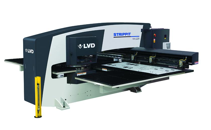 LVD Strippit VX-Series punch press