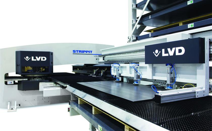 LVD automation system offers uninterrupted punching