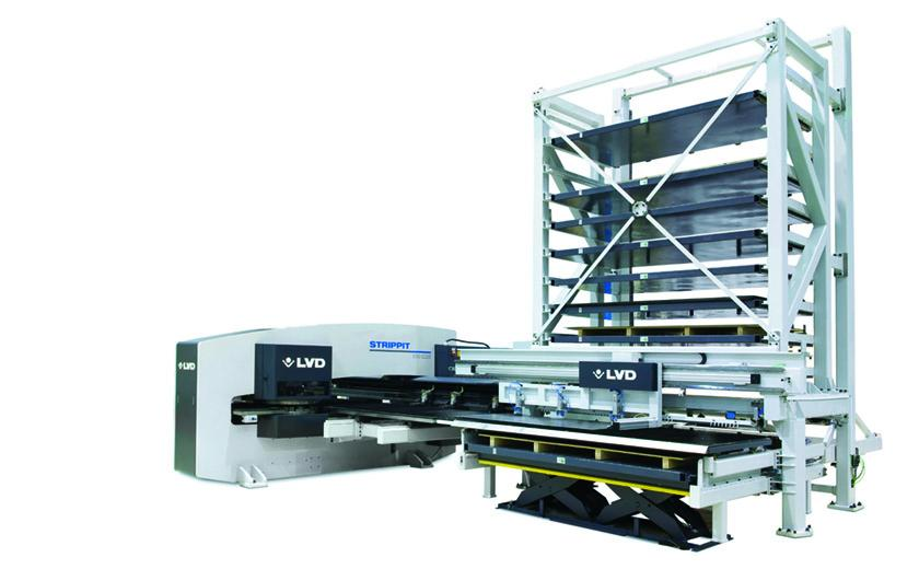 LVD Compact Tower enables automated production