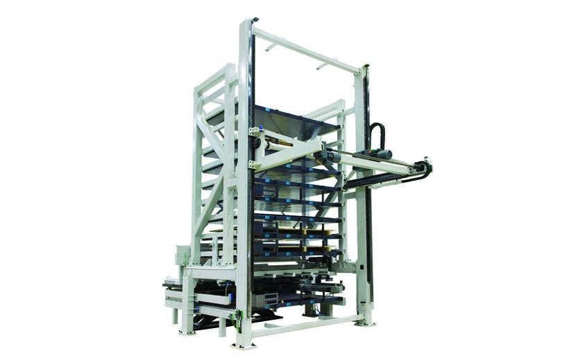 LVD Compact Tower offers 6 or 10 pallet configuration