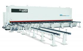 LVD custom MVS Series hydraulic guillotine shear