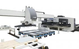 LVD Strippit PX with FA-P Flexible Automation system