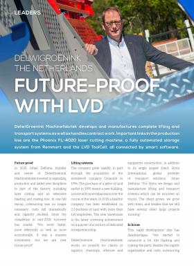DelwiGroenink Machinefabriek future-proofs business with LVD