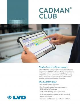 CADMAN® Club membership benefits
