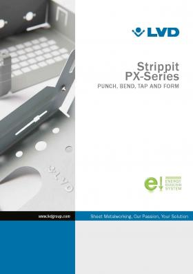 Folleto de Strippit Serie PX