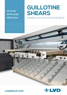 LVD Shearing Machines brochure
