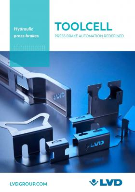 ToolCell auto-tool changing press brake