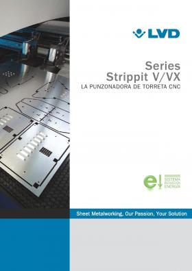 Folleto de Strippit Serie VX