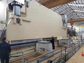 LVD constructs 1600-ton press brake