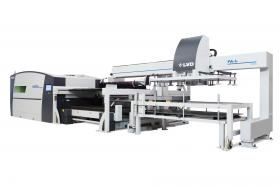 LVD introduces high speed automation for Electra and Sirius laser cutting machines