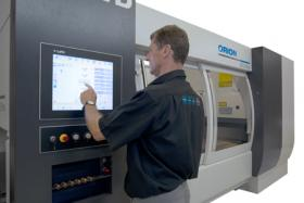 LVD redesigns Orion 3015 Laser Cutting system adding Touch Screen interface