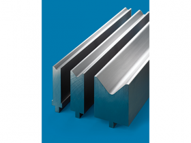 LVD STONE® press brake tooling provides consistent forming accuracy through patented design