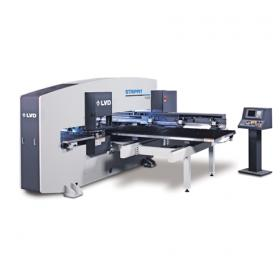 New Strippit P-1525 CNC turret punch press efficiently handles large/oversized workpieces