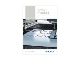 New punch press brochure
