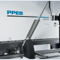 Optional CNC sheet supports for LVD press brakes